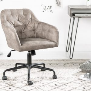 Kancelárska stolička Dutch Comfort Armlehne taupe
