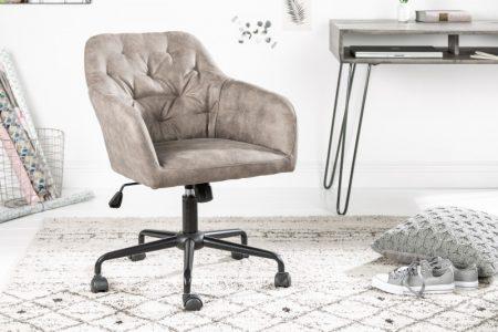 Béžová kancelárska stolička Dutch Comfort