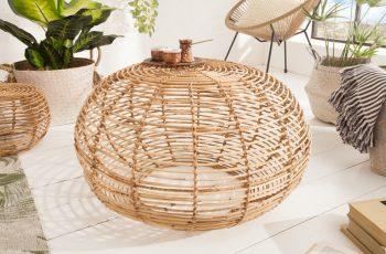 Konferenčný stolík Bamboo Lounge 70cm ratan