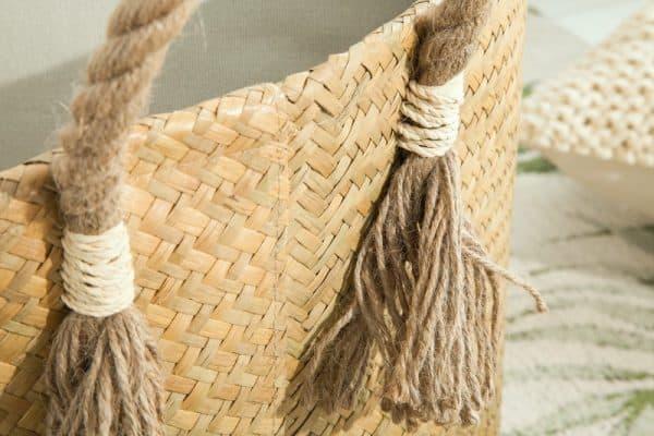 Körbe set 2ks Bamboo Lounge Seegras prírodná