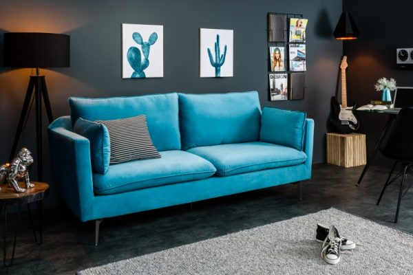 Sofa Famous 210cm aqua zamat
