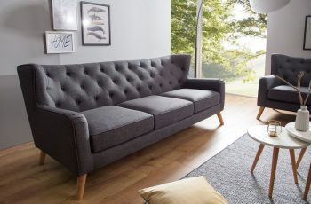 Sofa Scandinavia Lounge 210cm antracit