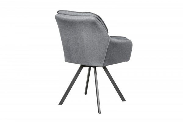 Stolička Lounger sivá Armlehne