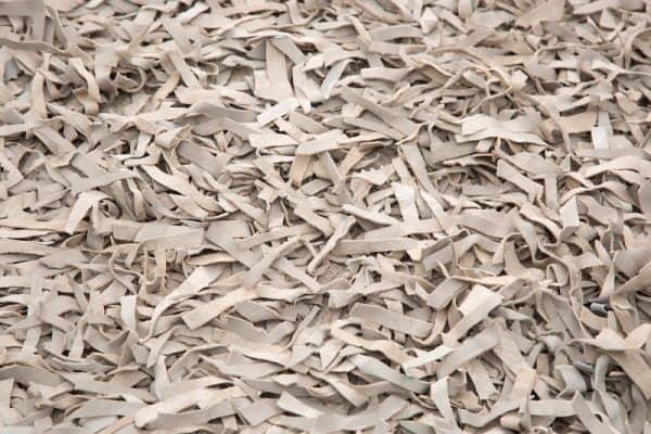 Béžový kožený koberec Wild West 140x200cm »