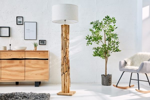 tienidlo Stojanová lampa Roots prírodná