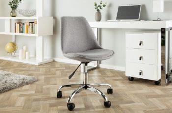 Kancelárska stolička Scandinavia svetlošedá
