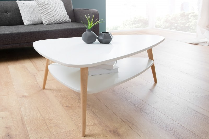Konferenčný stolík v škandinávskom štýle