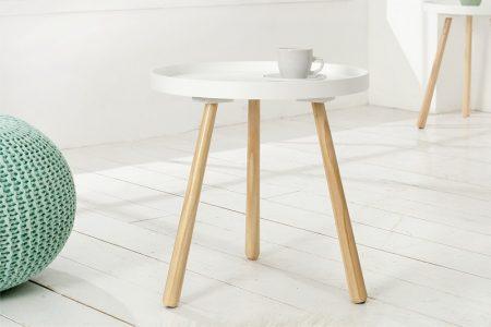Konferenčný stolík Scandinavia 40cm biela