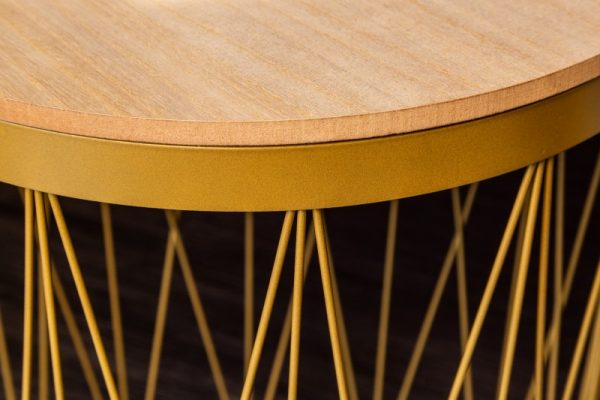 Konferenčný stolík Storage II zlatá