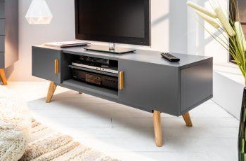 TV-stolík Scandinavia 120cm sivá