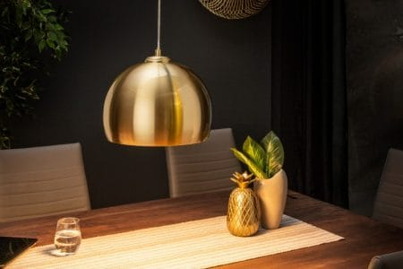 Závesná lampa Golden Ball 30cm zlatá