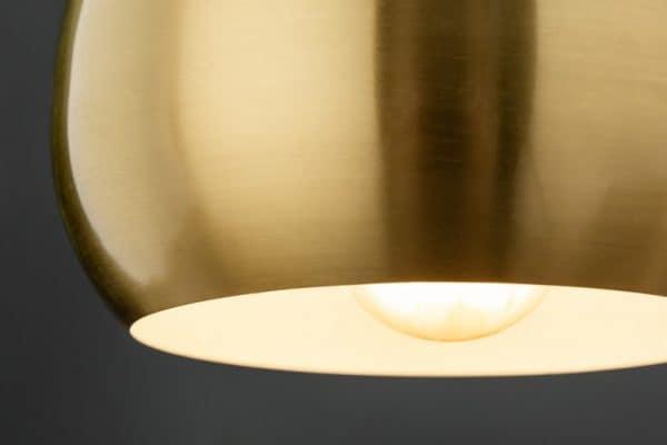 Zlatá závesná lampa Golden Ball 3ks »