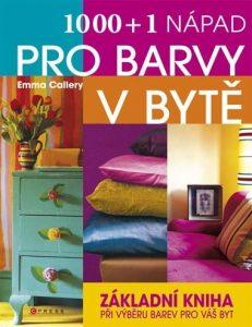 1000 a 1 napad pro barvy v byte - kniha o interiérovom dizajne