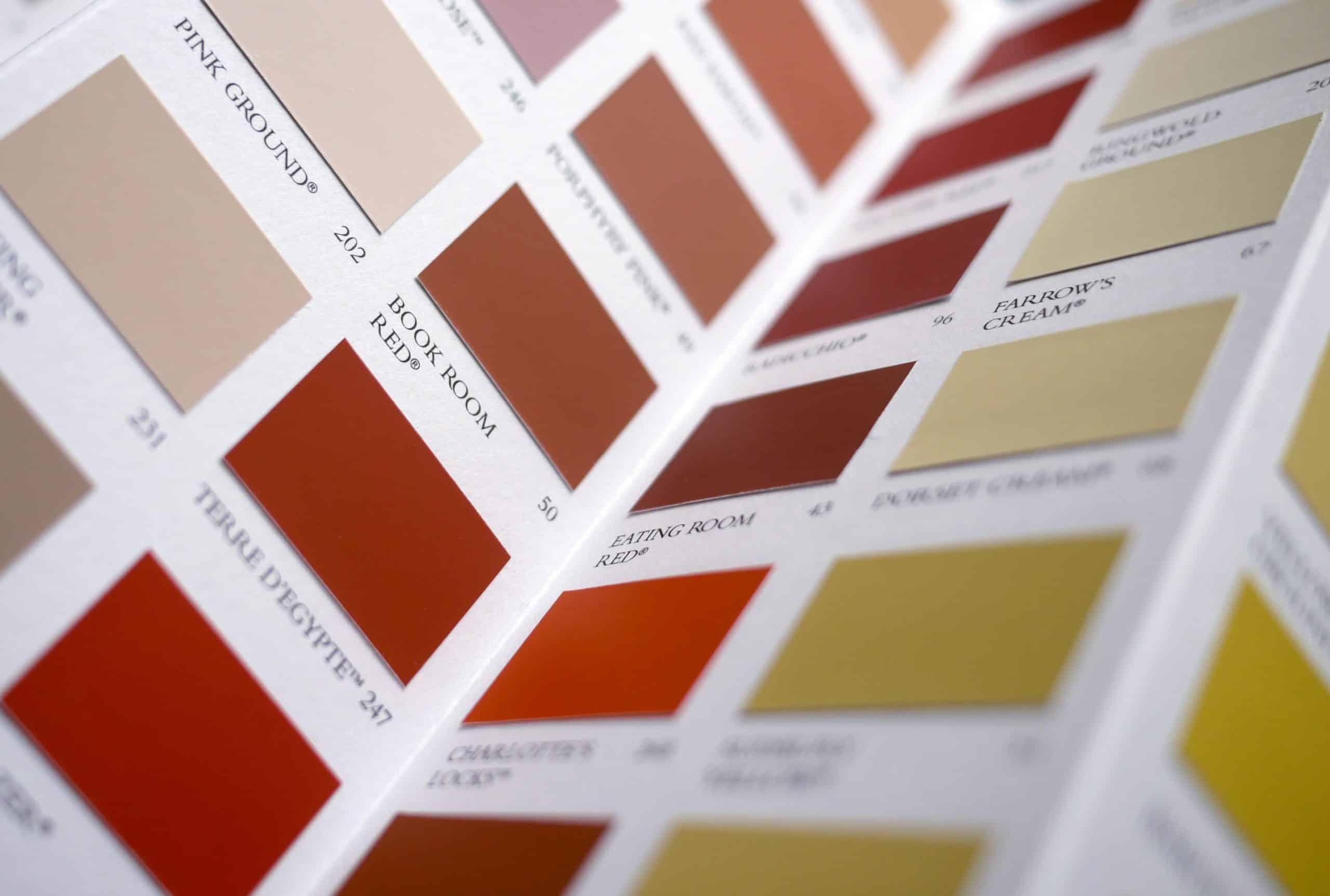 Farebná škála