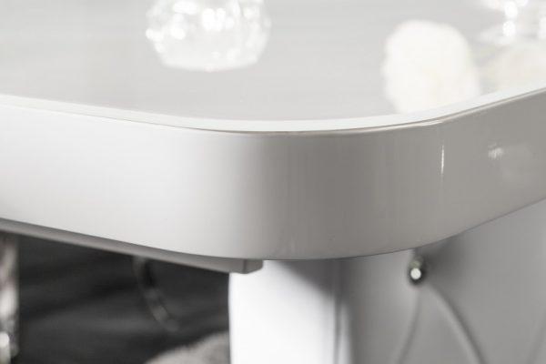 Jedálenský stôl Heritage 160-200cm biela