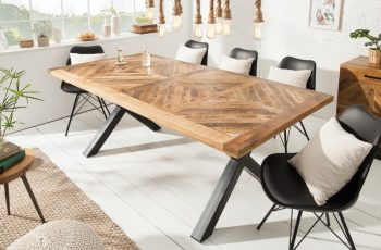 Jedálenský stôl Infinity Home 160cm prírodná Mango
