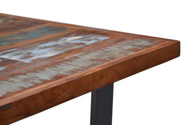 Jedálenský stôl Jakarta 160cm farebné recyklované drevo
