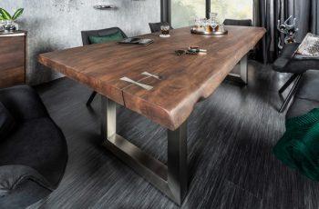 Jedálenský stôl Mammut Artwork 240cm agát 60mm