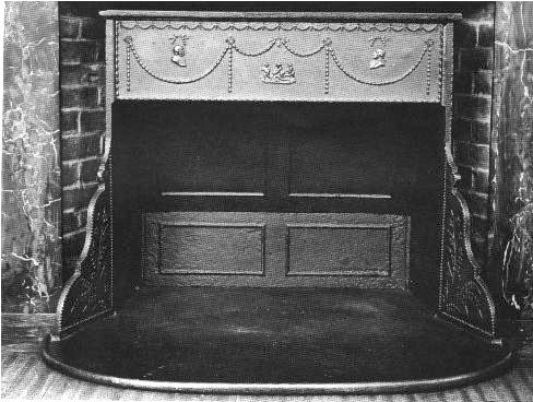 Kachle Franklin, ktoré vynašiel v roku 1742 americký vedec a politik Benjamin Franklin