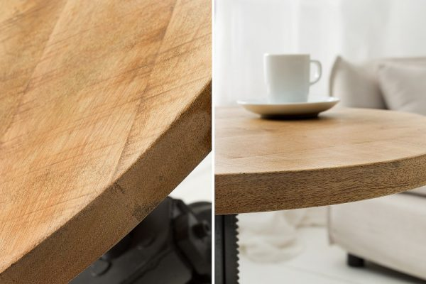 Konferenčný stolík Engineer 50cm Mango