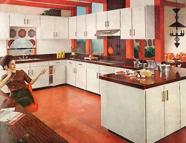 Kuchyňe v 60.rokoch