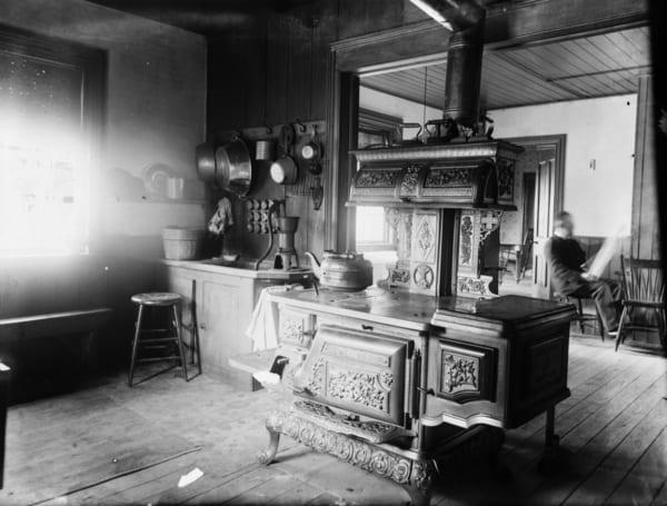 Kuchyňa z roku 1896
