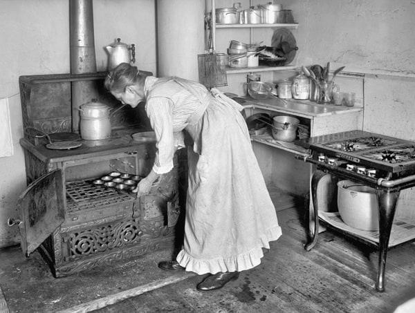 Kuchyňa z roku 1910