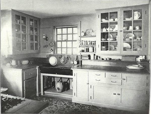 Kuchyňa z roku 1920