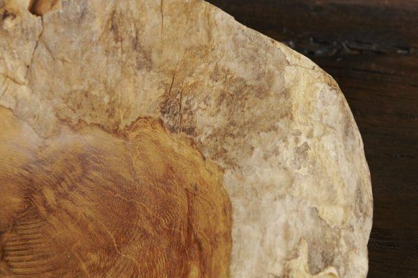 Miska Natur 30cm teakové drevo