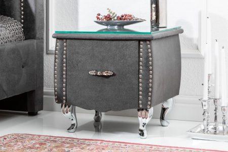 Nachttisch Extravagancia 45cm antik sivá