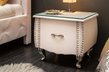 Nachttisch Extravagancia 45cm biela