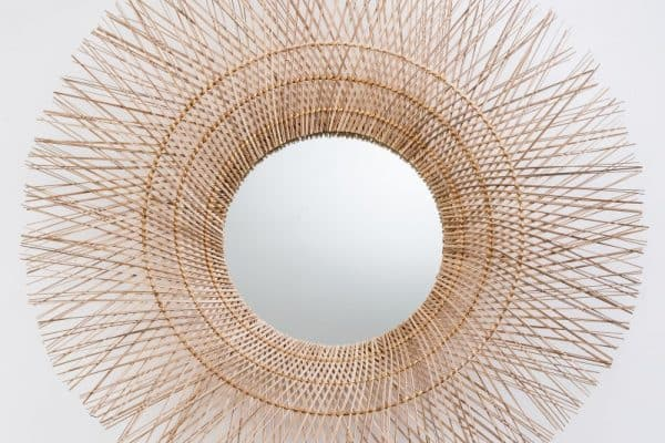 Nástenné zrkadlo Pure Nature 85cm Kokos
