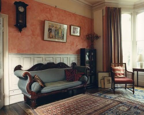 Obývačka z roku 1985, Londýn