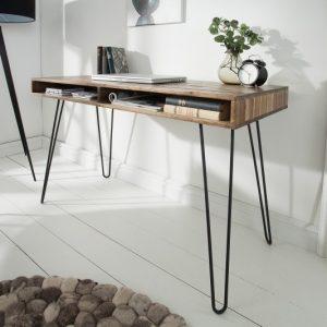 Písací stôl Scorpion 110cm sivá agát
