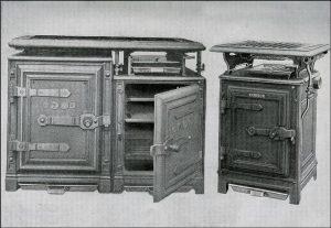 Plynové sporáky vyrábané spoločnosťou Windsor zo začiatku 20.storočia pre kuchyne
