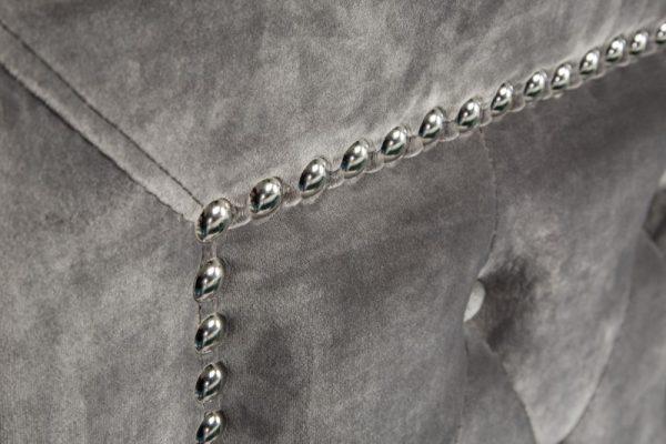 Posteľ Extravagancia 160x200cm striebornošedá