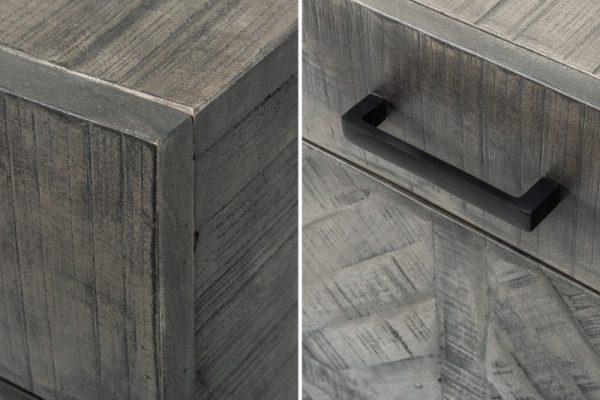 Príborník Infinity Home 160cm sivá Mango