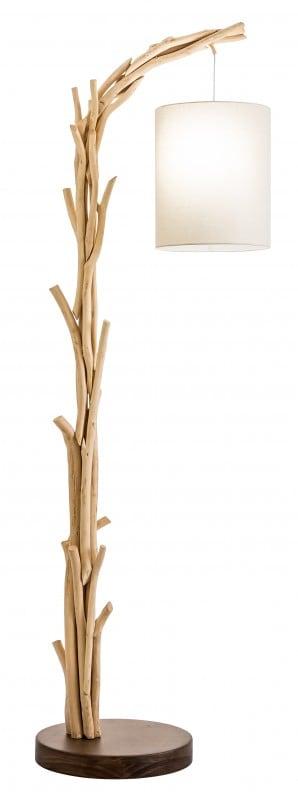 Stojanová lampa Wild Nature 161cm naplavené drevo