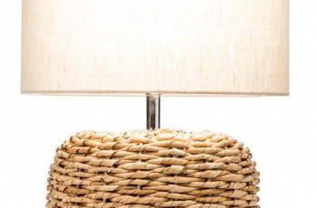 Stolová lampa Nature 47cm geflochten