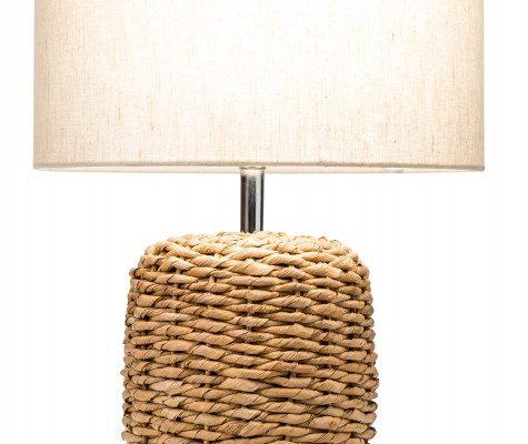 Stolová lampa Nature 51cm geflochten