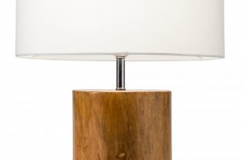 Stolová lampa Pure Nature 57cm mahagón