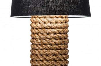 Stolová lampa Seven Seas 75cm čierna
