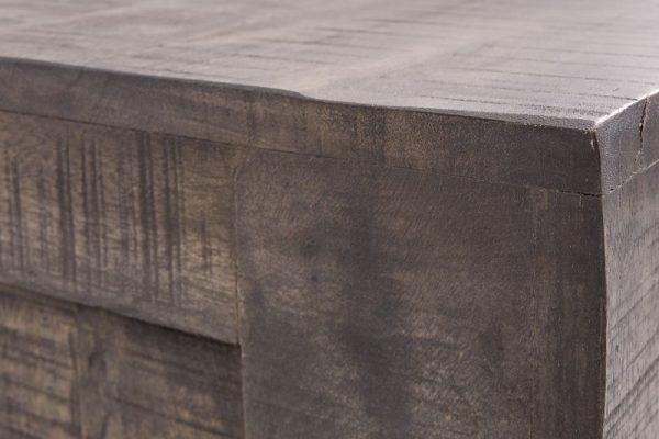 TV Board Iron Craft 130cm sivá Mango