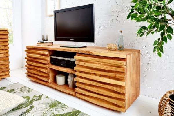 TV-stolík Relief 150cm agát