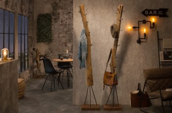 Vešiak Hemingway 200cm teakové drevo