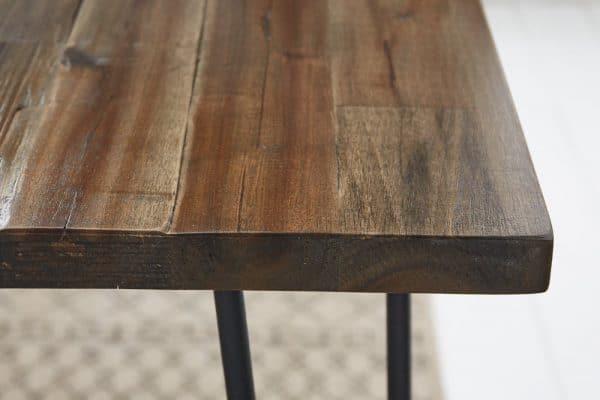 Hnedý jedálenský stôl Spider 160cm »