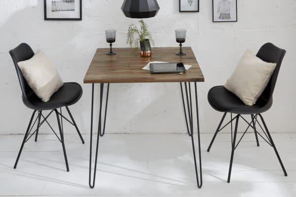 Hnedý jedálenský stôl Spider 80cm »