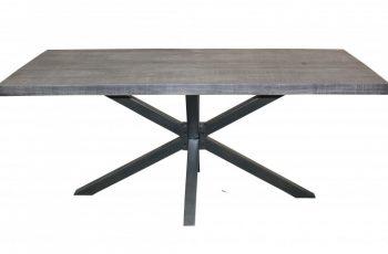 Jedálenský stôl Galaxie 180cm sivá agát