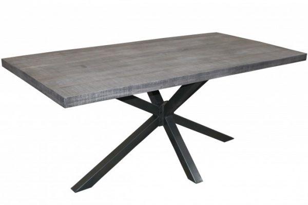 Jedálenský stôl Galaxie 200cm sivá agát