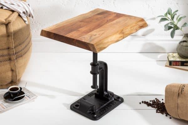 Konferenčný stolík Factory 43cm prírodná agát